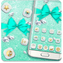 Tiffany Blue Bow Theme