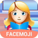 Girl Life Emoji Sticker For Facemoji