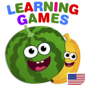 FunnyFood Kindergarten learning games for toddlers