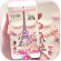 Paris Tower Theme Pink Love