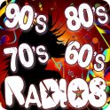 Oldies 60s 70s 80s 90s Radios. Retro Radios Free