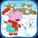 Divertido bola de nieve batalla:Juegos de invierno