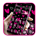 Lovely Pink Heart Theme