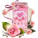Pink Diamond Flower Love Theme