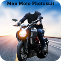 Men Moto Photo Suit