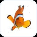 Clown Fish Animated Keyboard + Live Wallpaper