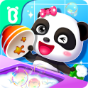 Baby Panda Happy Clean