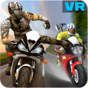 VR Highway Racing Stunt Rider -VR Bike Attack RacE
