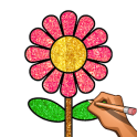 Learn to Draw , Glitter & Color: Draw Step by Step