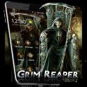 Skull Grim Reaper Theme