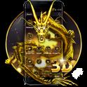 3D Oro Continuar Tema