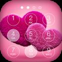 Pink Love Lock Screen Theme
