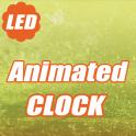 LED Animated Digital Clock LWP