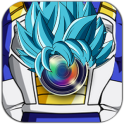 Blue Saiyan Hair Photo Editor