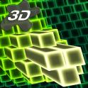 Neon Cubes 3D Live Wallpaper