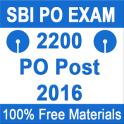 SBI PO EXAM 2016