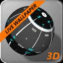 3D Ball Compass + LIVE WALLPAPER