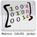 Matrice : Gauss-Jordan