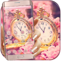 Sakura Rose Gold Watch Theme