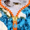 Snowfall Zipper Lock Screen