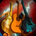 Guitars. Music Instruments Set