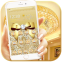 Luxury Gold Bow Diamond Theme