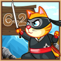 Ninja Cat Math Survive