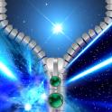 Stars Zipper Lock Screen