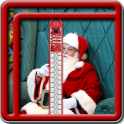 Zipper Lock Screen Santa Claus
