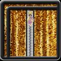 Zipper Lock Screen Glitter