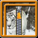 Zipper Lock Screen Tiger