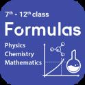 Physics, Chemistry and Maths Formulas