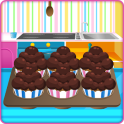 Cooking Chocolate Muffins