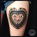 Heart Tattoos Ideas
