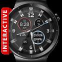 Leather ShockR HD Watch Face Widget Live Wallpaper