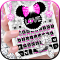 Twinkle Minny Bowknot Keyboard Theme