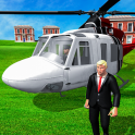 US President Escort Helicopter: Air Force VTOL 3D