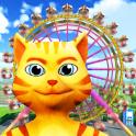 Cat Theme & Amusement Park Fun