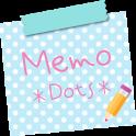 Sticky Memo Notepad *Dots*