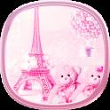 teddy Paris Eiffel Tower theme