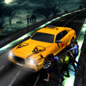 Halloween Night Taxi Driver 3D Car Driving Games