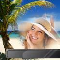 Tropical Beach Photo Frames