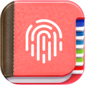 My Personal Diary with Fingerprint Password & Lock