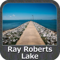 Lake Ray Roberts Texas GPS Map