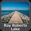 Lake Ray Roberts Texas GPS Map