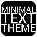Minimal Text THEME - PAID