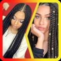 African Women Braids