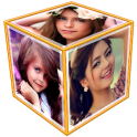 3D Photo Frame Cube Live Wallpaper