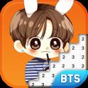 BTS Army Pixel Art