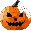 Halloween Poly Art